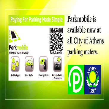 Parkmobile Graphic on homepage