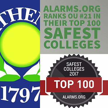 OU Top 100 Safe Colleges