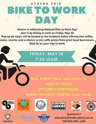 Athens Bike to Work Day Flyer pic