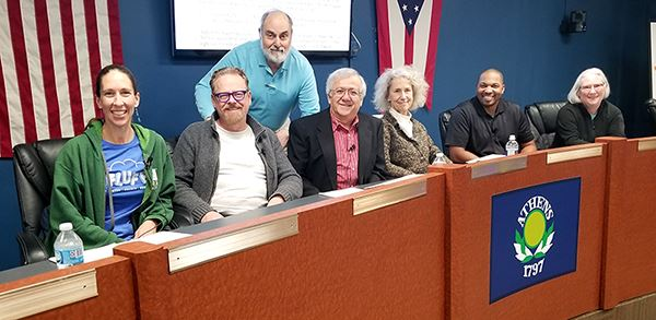 Picture of the Board of Zoning Appeals members