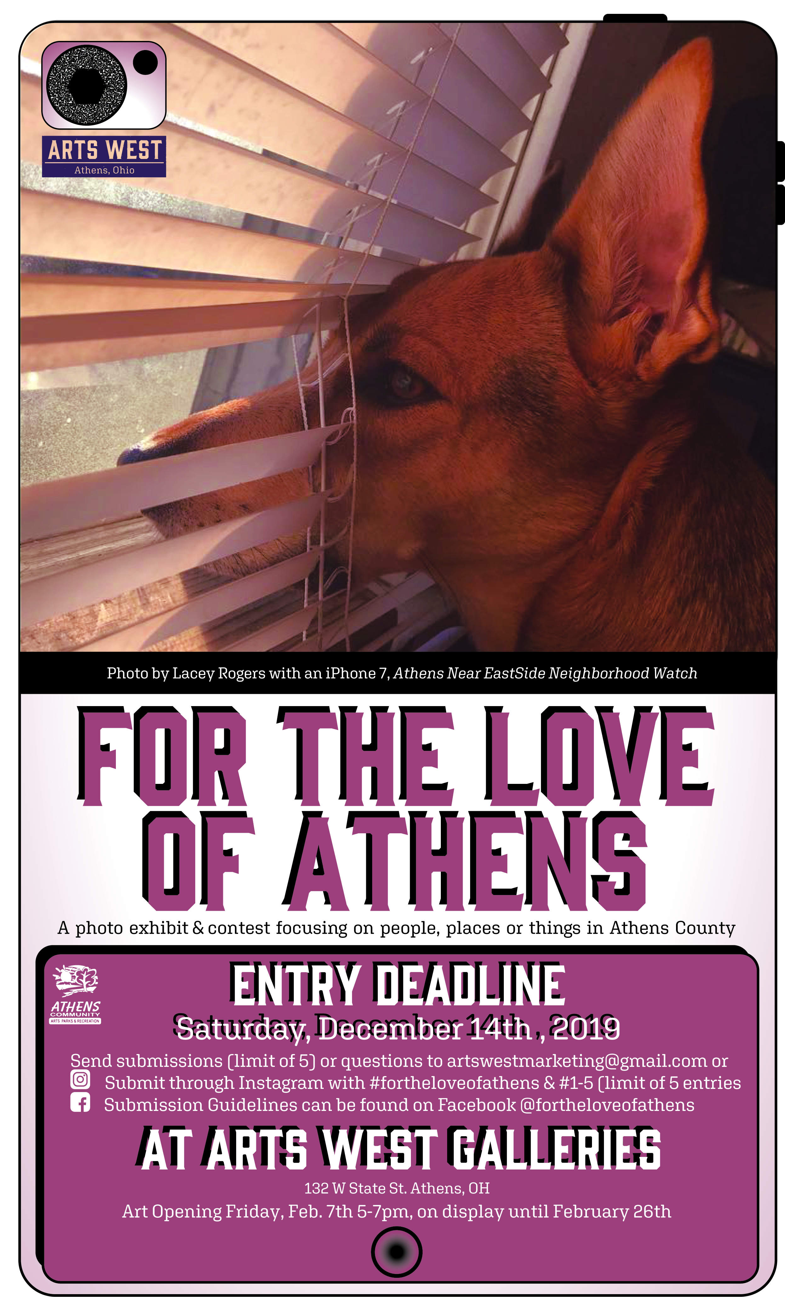 For the love of Athens Photo Exhibit