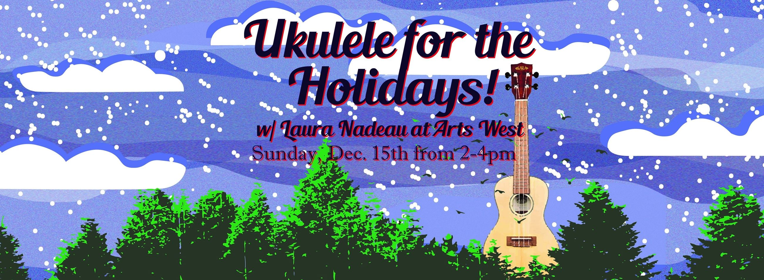 Ukulele for the Holidays Poster