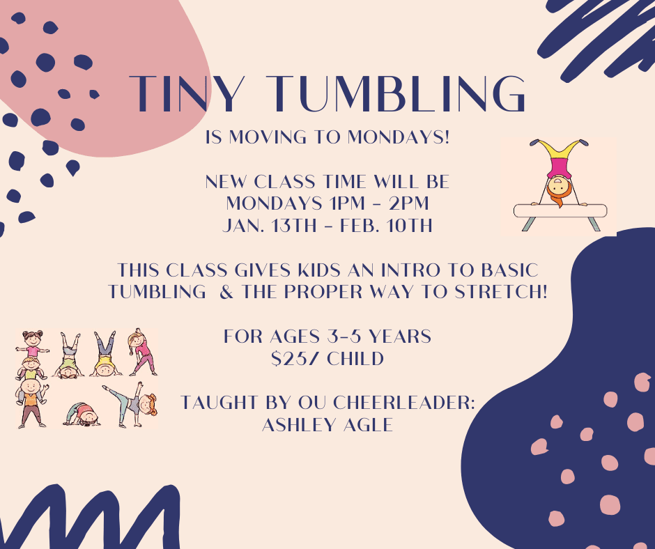 Tiny Tumbling Winter 2020 Promo