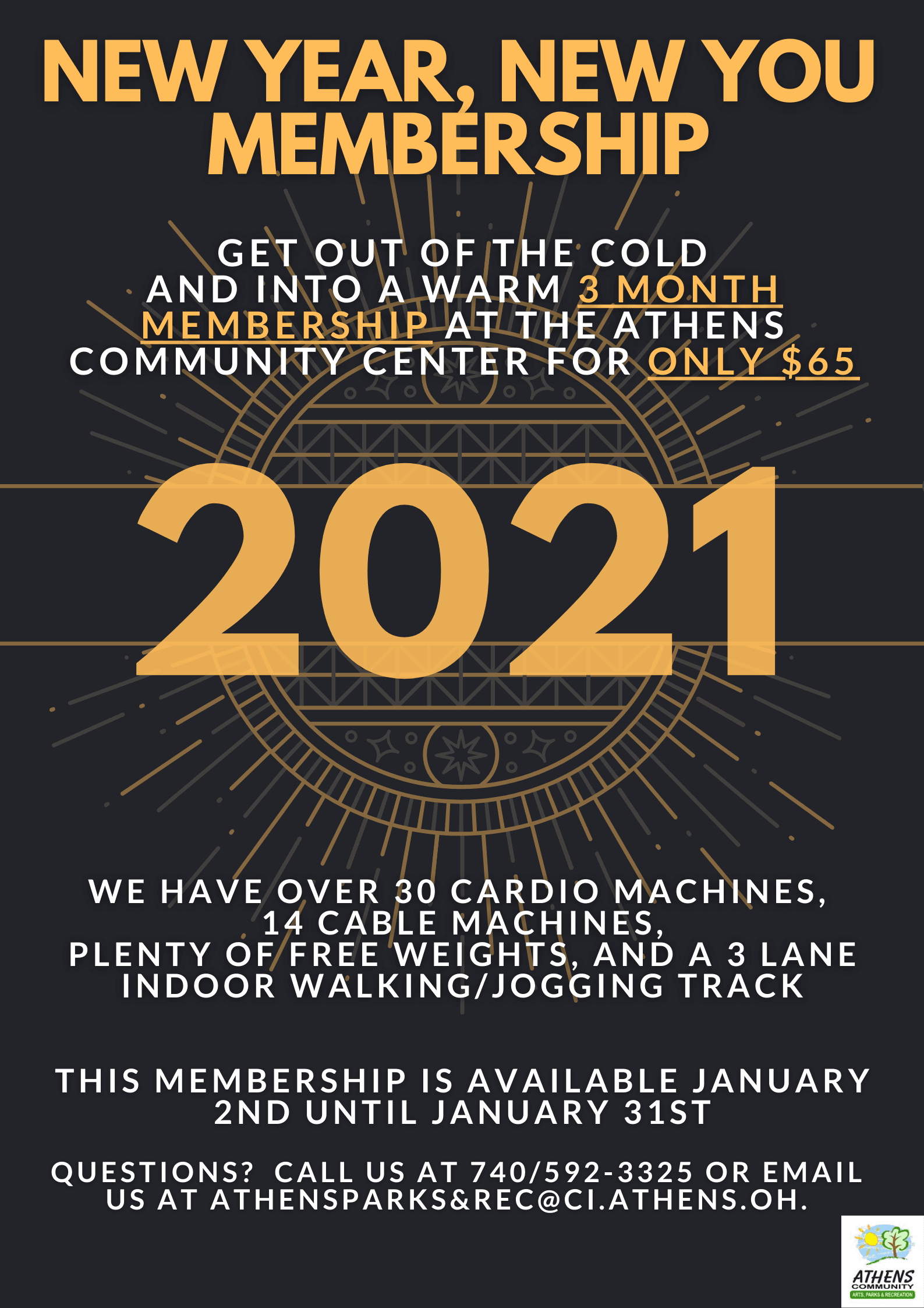 New Year New You Membership Promo_2021