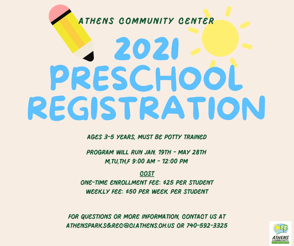 2021 PRESCHOOL REGISTRATION_Updated_Feb2021
