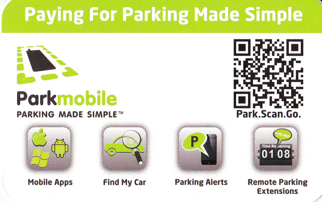 Park Mobile Card