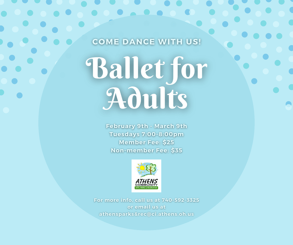 Ballet for Adults Winter 2021